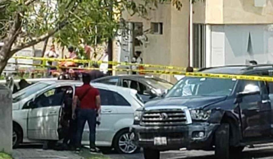 Persecución y balacera en Puebla
