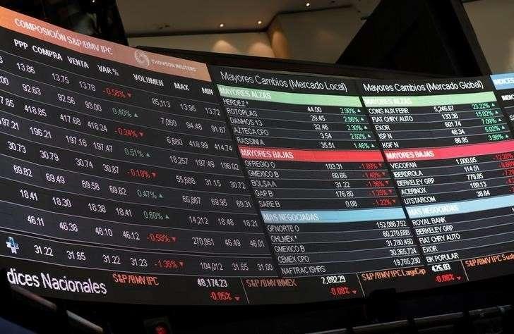 Bolsa Mexicana abre con caída de 2.03 por ciento este viernes