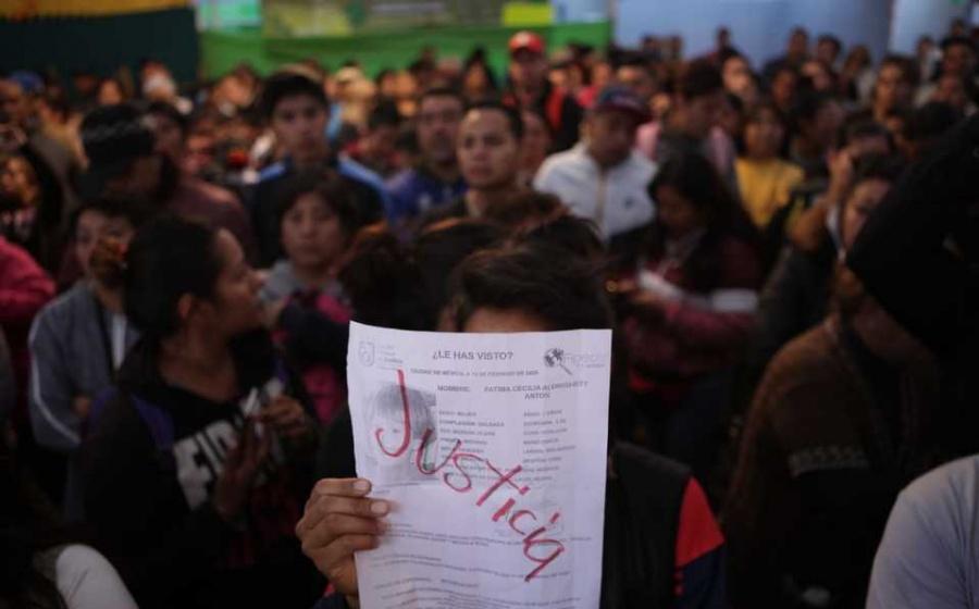 Exige justicia la mamá de la menor asesinada, Fátima