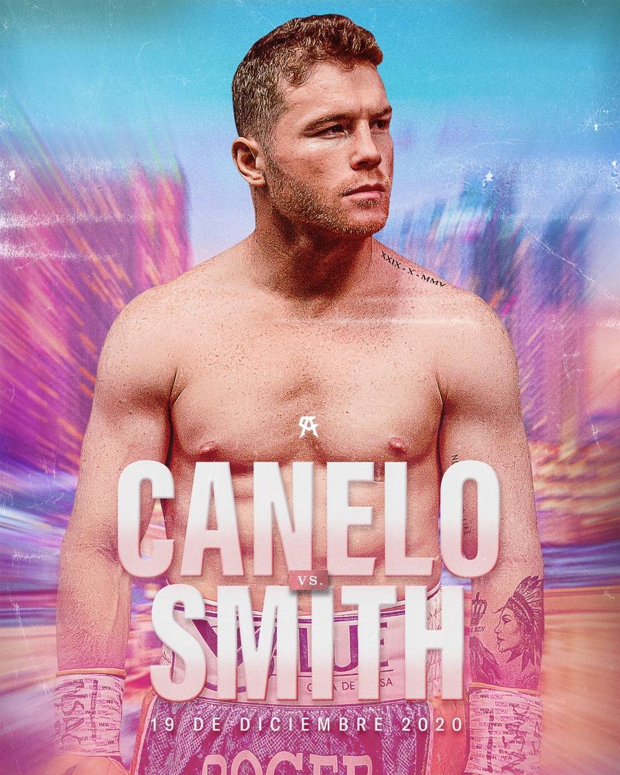 Canelo regresa al ring en diciembre, se enfrenta a Callum Smith