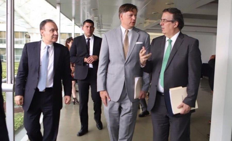 Abordan tráfico de armas Durazo, Ebrard y embajador de EU en México, Christopher Landau