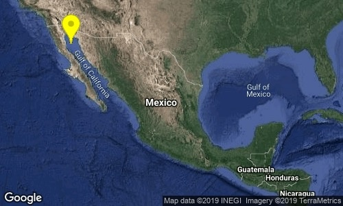 Baja California, registra sismo de 4.8