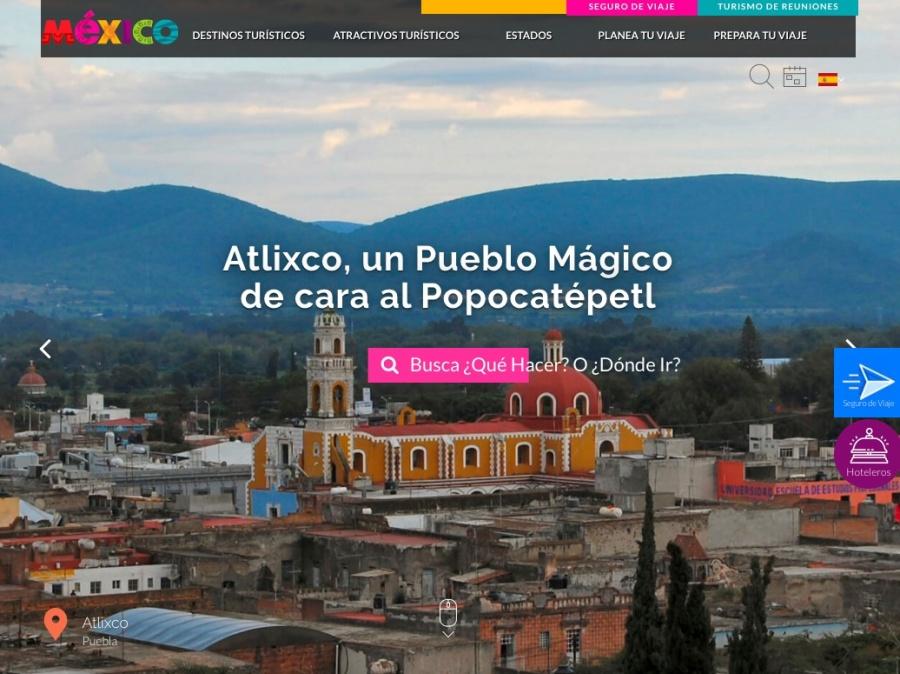 Sectur lanza plataforma VisitMexico
