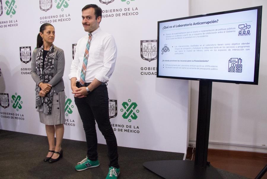 Crean laboratorio anticorrupción en CDMX