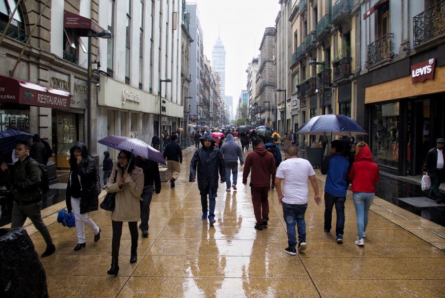 Activan Alerta Amarilla por lluvia y granizo en 12 alcaldías