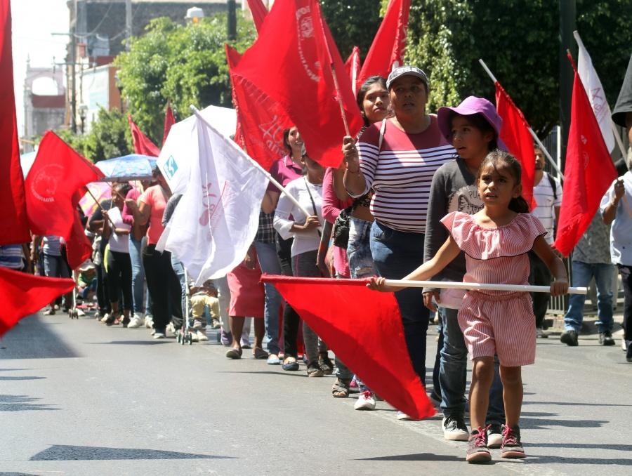 Antorcha niega participación en marcha del 1 de diciembre