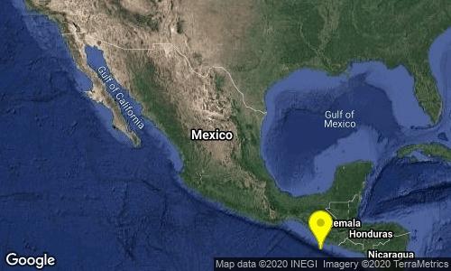 Tiembla en el sur de Chiapas