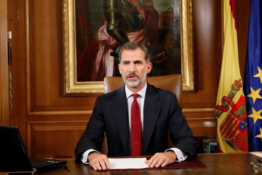 Felipe VI emite mensaje a españoles por el Covid-19