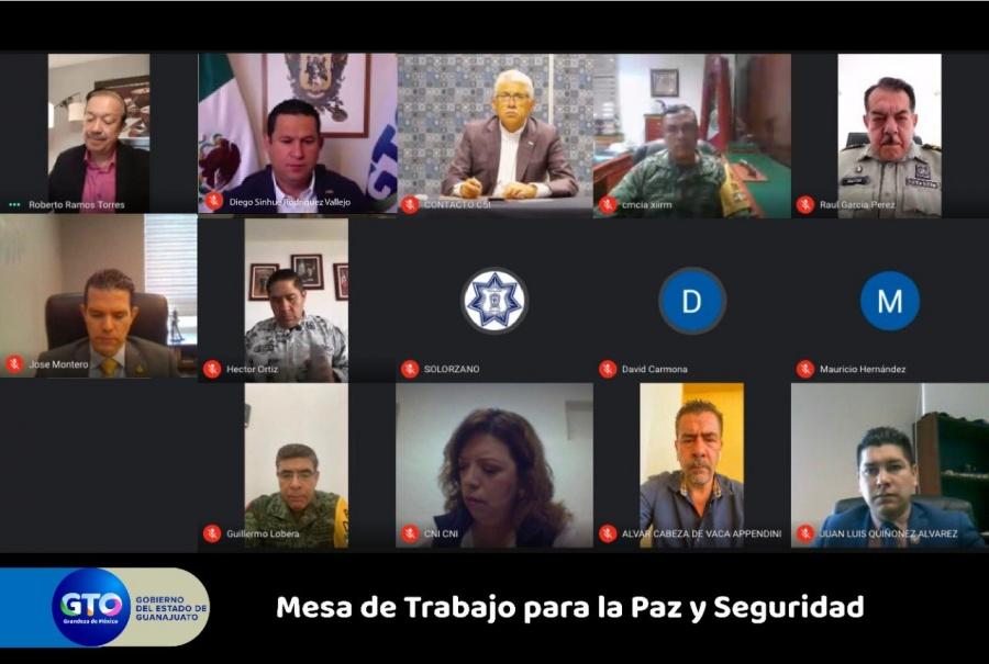 Durante operativo en Guanajuato consignan 21 mil dosis de droga