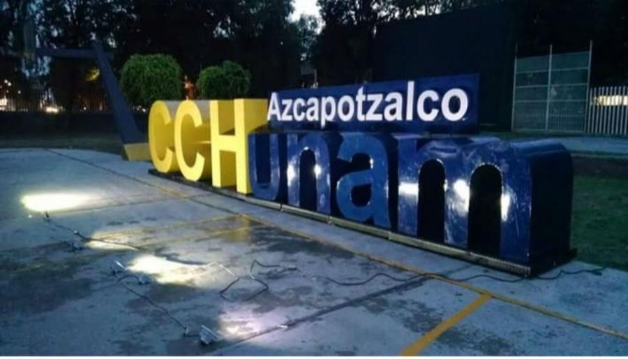 Encapuchados ingresan al CCH-Azcapotzalco