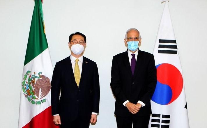 Refrendan México y Corea importancia de la cooperación multilateral