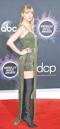 Taylor Swift se convierte en la favorita de los AMA