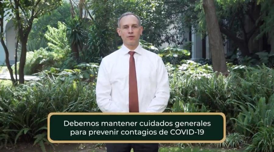 "López Gatell pide evitar ""restringir la movilidad"", urge acatar las medidas sanitarias"