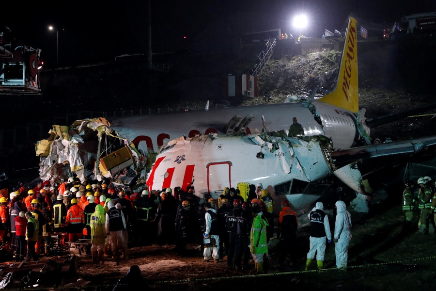 Hubo 52 heridos en el aeropuerto de Sabiha Gokcen, en Estambul