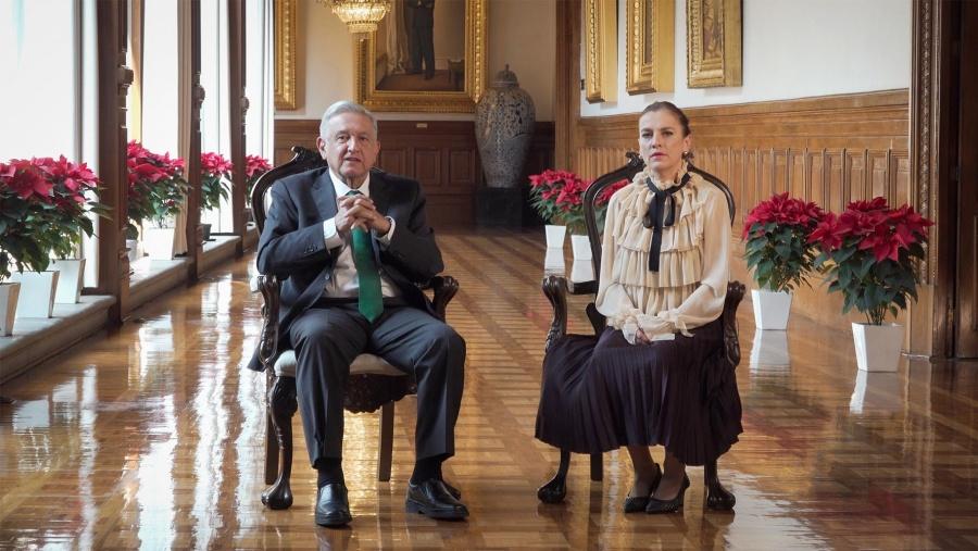 López Obrador envía mensaje de Nochebuena, pide
