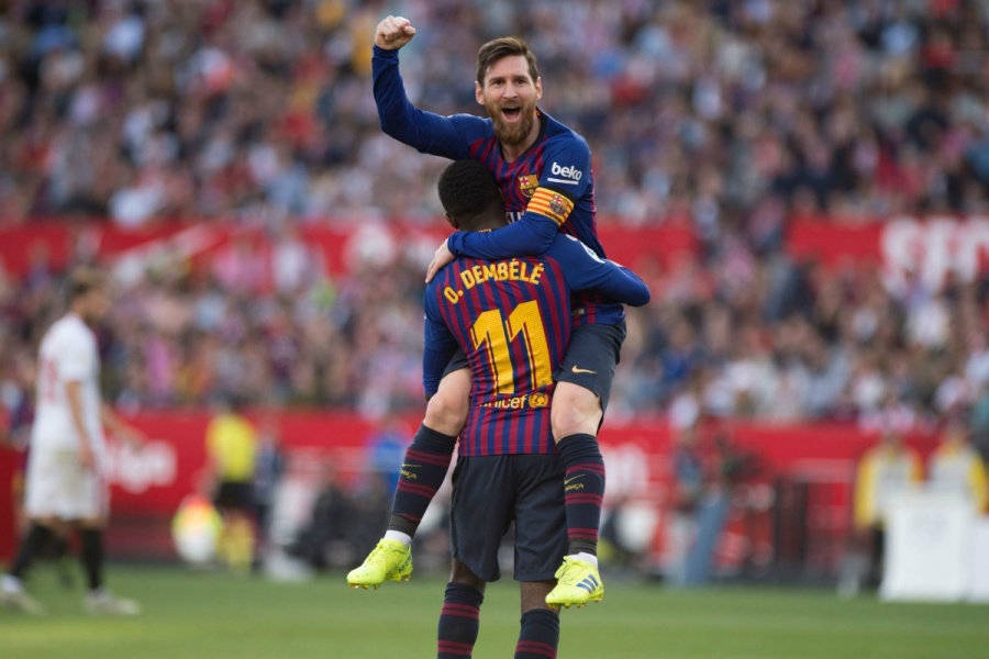 Messi remonta al Sevilla con un