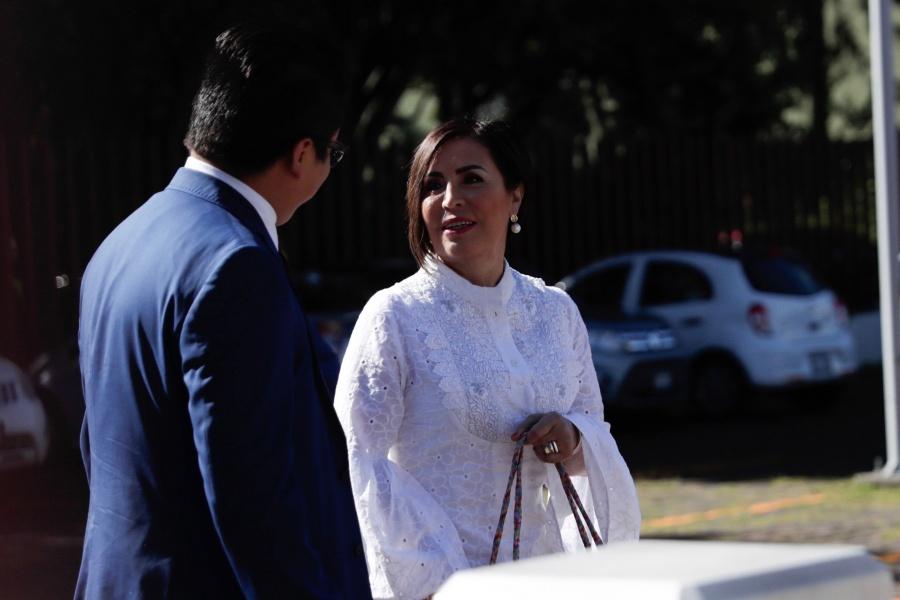 Pide Rosario Robles a FGR justicia y no venganza por consigna