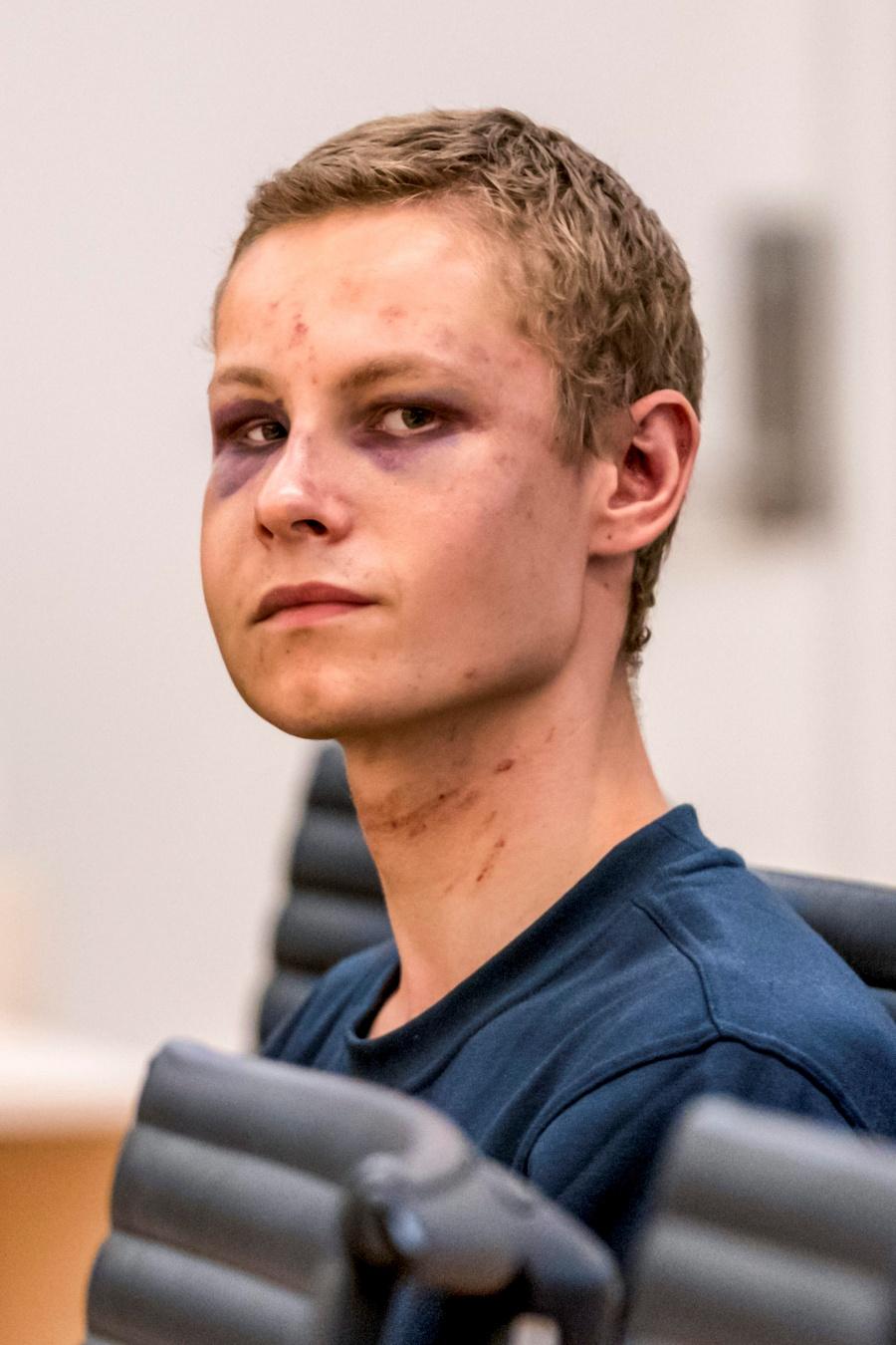 El noruego Philip Manshaus rechazó las acusaciones en su contra