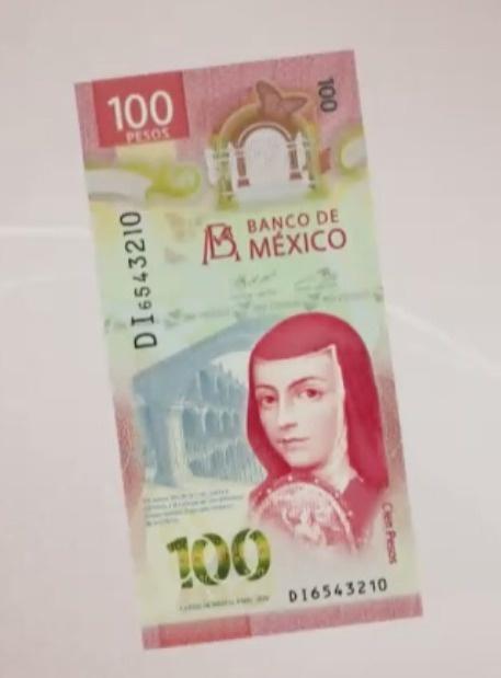 """Habrá nuevo billete de 100 """"Sor Juana"""" cambia de valor"""