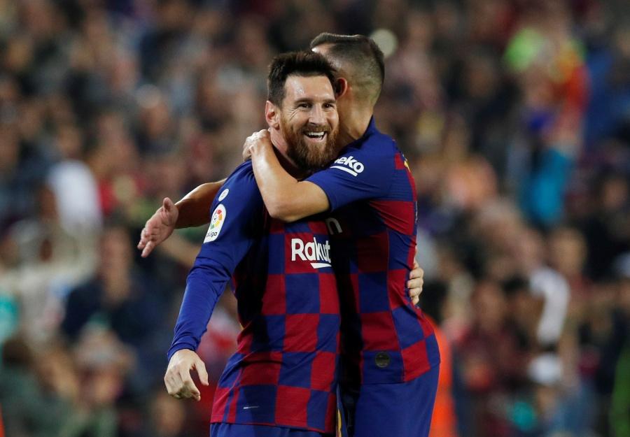 Un Messi estratosférico da al Barcelona la victoria sobre el Valladolid