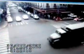 Joven atropellado por camión de la Sedena, también recibió un balazo