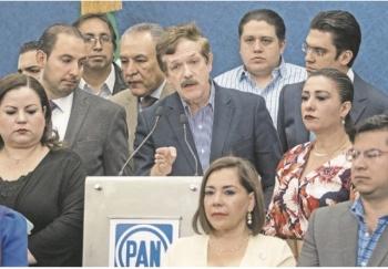 Por omisión, PAN va contra Muñoz Ledo