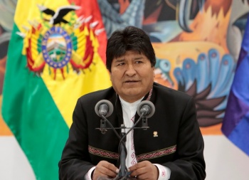 """Como """"golpe de Estado"""" califica Evo Morales movimiento de oposición"""