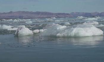 Glacial de Groenlandia se fractura, imágenes fueron captadas por un satélite