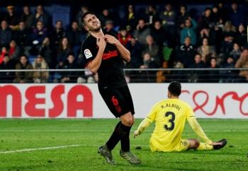 Con Herrera en el campo, el Atlético de Madrid empata ante el Villarreal