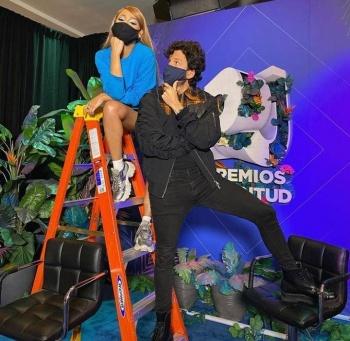 ¿Danna Paola y Sebastián Yatra?...