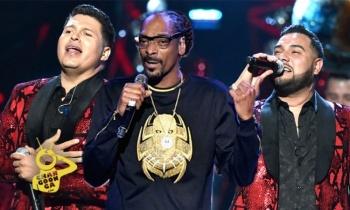 Banda MS compartirá escenario con Snoop Dogg
