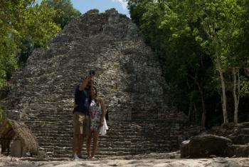 La historia con el mar, recorrido virtual de Tulum