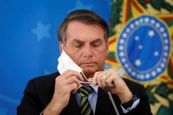 Se pasea Bolsonaro por Brasilia sin importarle el coronavirus