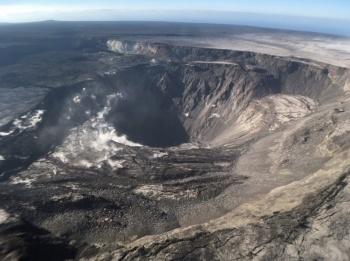 Sujeto sobrevive tras caer al cráter del Kilauea