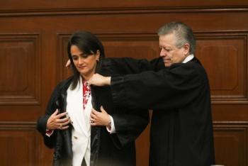 Margarita Ríos-Farjat asume como nueva ministra de la SCJN