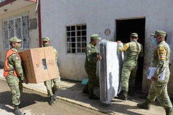 Inicia entrega de enseres domésticos previo a Navidad en Tabasco, anuncia AMLO