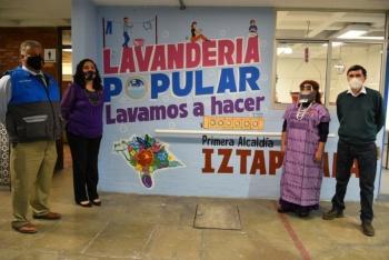 """Clara Brugada: Iztapalapa inicia programa de lavanderías populares, """"Lavamos a hacer"""" beneficiará a mujeres"""