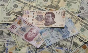 El dólar rebasa los 20 pesos a la venta