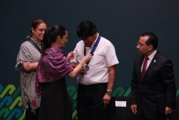 Nombra Sheinbaum Huésped Distinguido de la CDMX a Evo Morales