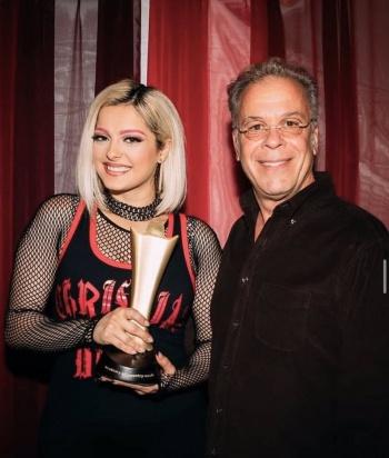 Bebe Rexha ha ganado más de cinco mil dólares en Las Vegas