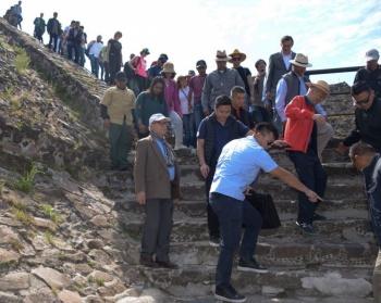 Teotihuacán cerrada el fin del solsticio de primavera