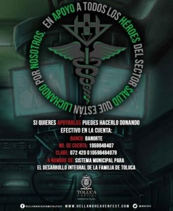 Hell and Heaven contra el COVID-19