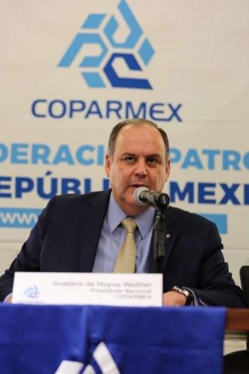 Poco sentido de autocrítica en el mensaje de AMLO: Coparmex
