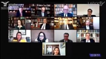 Terna de la SCJN para el Tribunal Electoral: Nínive Penagos, Luis Espíndola y Laura Ramírez