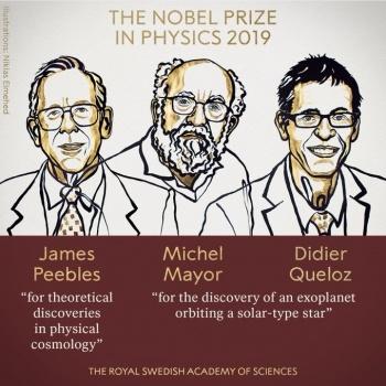 Conceden Nobel de Física a tres descubridores de exoplanetas