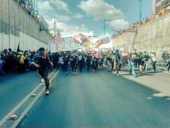Inicia Marcha del 2 de Octubre