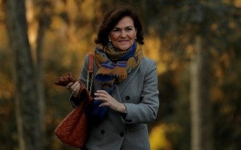 Vicepresidenta del gobierno español da positivo por Covid-19