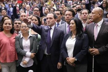 Ante diputados, Arturo Herrera rinde protesta como nuevo Secretario de Hacienda