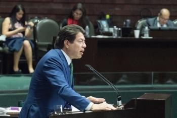 Cambio de semáforo en la CDMX abre la posibilidad de tener sesiones presenciales de la Permanente: Mario Delgado