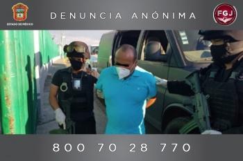 Detuvieron al alcalde de Zacualpan por ataque a fiscal de Ixtapan de la Sal